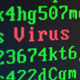 Random Letters and Numbers - Virus Attack on a Computer Screen - VideoHive Item for Sale
