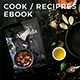Cook & Recipes ebook - GraphicRiver Item for Sale