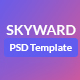Skyward PSD Template - ThemeForest Item for Sale