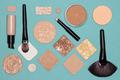 Corrective makeup flat lay set - PhotoDune Item for Sale
