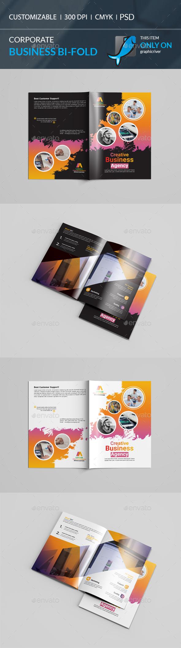 GraphicRiver Bi-Fold Brochure 20830452