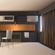 Modern Kitchen Realistic Interior