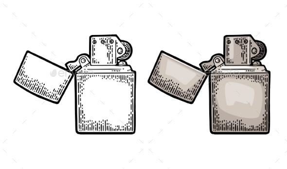 Lighter Open - Miscellaneous Vectors