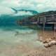 Wooden pier on Bohinj lake - PhotoDune Item for Sale