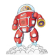 Vector Robot - GraphicRiver Item for Sale