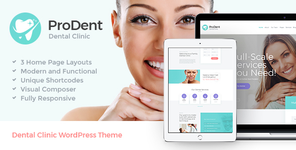 ProDent | Dental Clinic & Healthcare WP Theme - Health & Beauty Retail