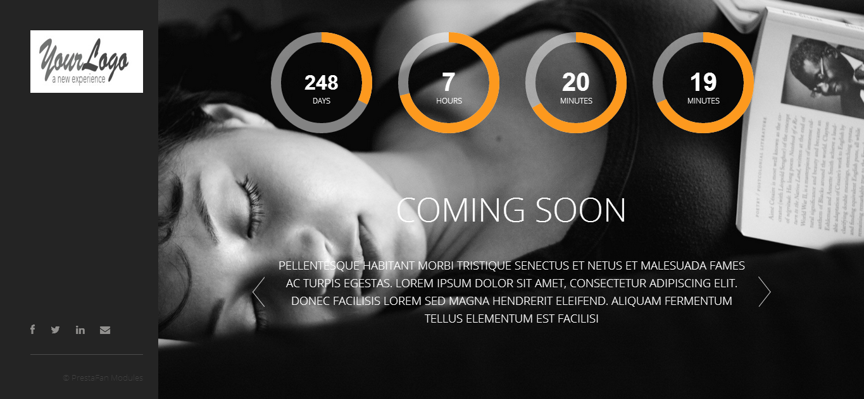 Coming Soon / Maintenance - PrestaShop Module