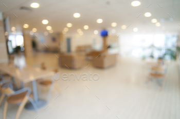 Blurred office background image, abstract interior