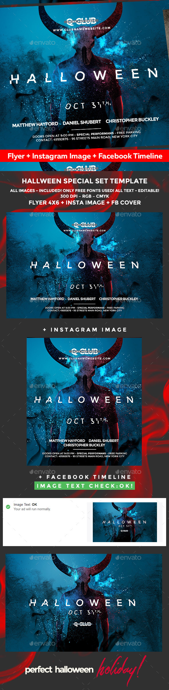 halloween flyer graphics designs u0026 templates from graphicriver