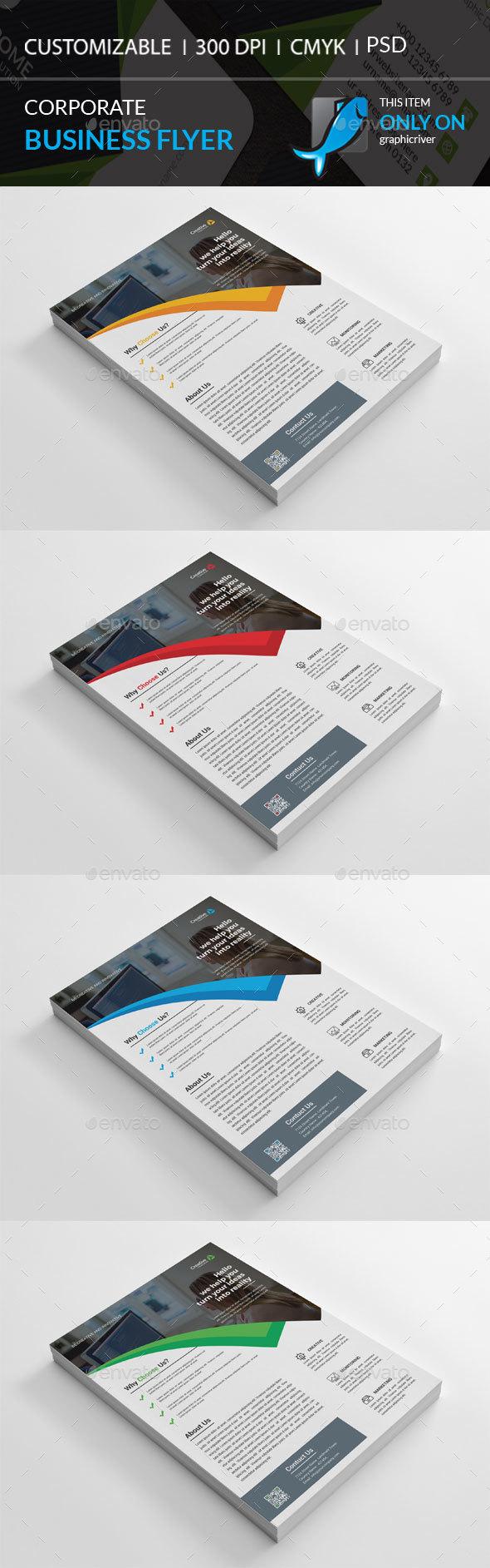 GraphicRiver Corporate Flyer 20831059