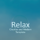 Relax - Creative Modern Template - GraphicRiver Item for Sale