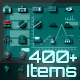Digital Era 400+ Animated Icons and Elements Pack