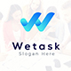 We Task - Letter W Logo Template
