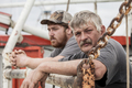 Commercial fishermen in South Carolina