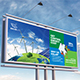 Green Energy or Solar Energy Billboard - GraphicRiver Item for Sale