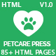 Pet Grooming, Pet Sitter, Veterinary Shop - Pet Care Press - ThemeForest Item for Sale