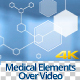 Molecules Element Background for Video