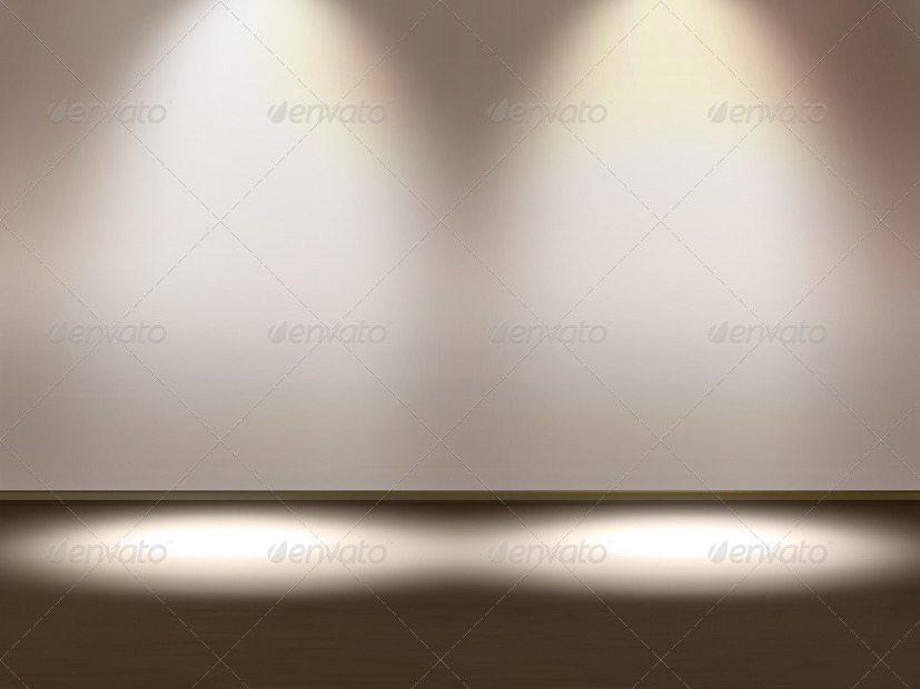 Spotlight Background Product Showcase Display By
