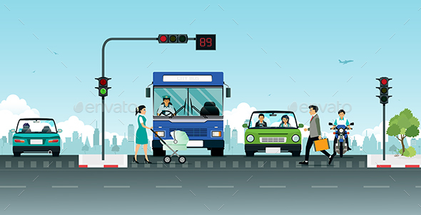 GraphicRiver Traffic Light 20832706