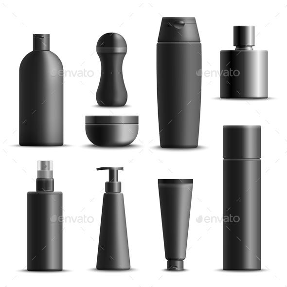GraphicRiver Mens Cosmetics Realistic Set 20832935