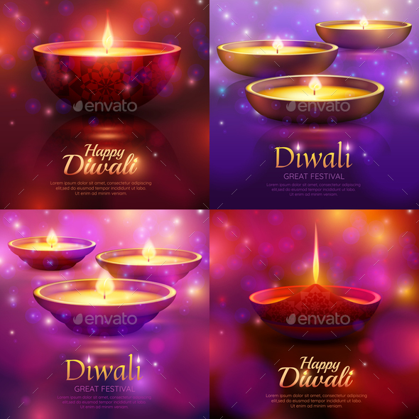 GraphicRiver Diwali Celebration Design Concept 20832936