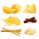 Salty Snack Pieces Set - GraphicRiver Item for Sale