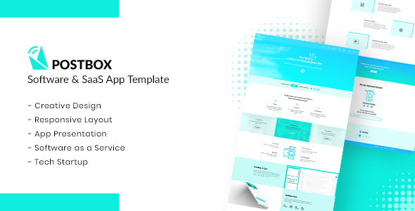 PostBox - Software & SaaS App Product Template - Marketing
