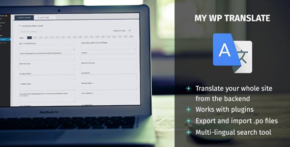 My WP Translate - Easiest Translation Plugin