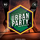 Urban Party Vol.1 flyer / Poster