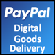 Paypal Digital Goods Delivery 1.0