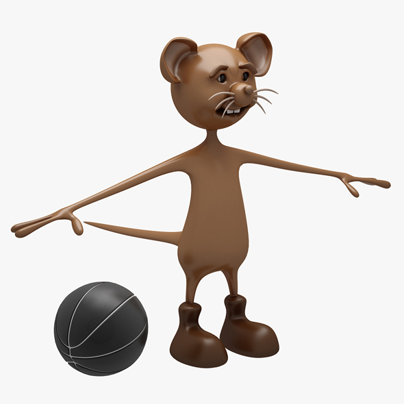 3DOcean Cartoon Mouse 02 NOT RIGGED 20833705