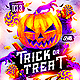 Trick or Treat Halloween Party Flyer - GraphicRiver Item for Sale