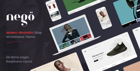 Download Nego - Minimalist Responsive Magento Theme            nulled nulled version