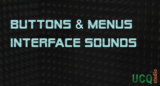 Buttons & Menus, Interface Sounds