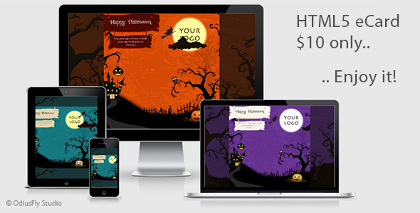 Halloween Card v1 - CodeCanyon Item for Sale