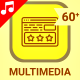 Multimedia Icons - VideoHive Item for Sale