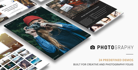 Photography | Responsive Photography Theme - Photography Creative