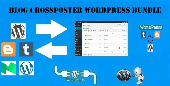 Blog CrossPoster WordPress Bundle by CodeRevolution - CodeCanyon Item for Sale