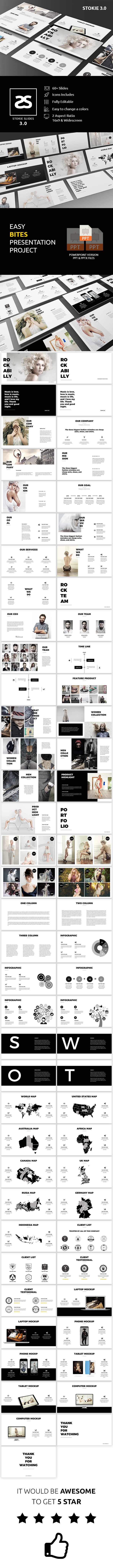 GraphicRiver Fashion Powerpoint Template 3.0 20811503