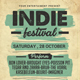 Indie Music Festival Flyer - GraphicRiver Item for Sale