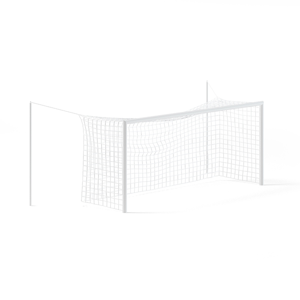 Football Goal Net - 3DOcean Item for Sale