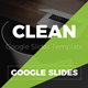 Clean Multipurpose Google Slides Template - GraphicRiver Item for Sale