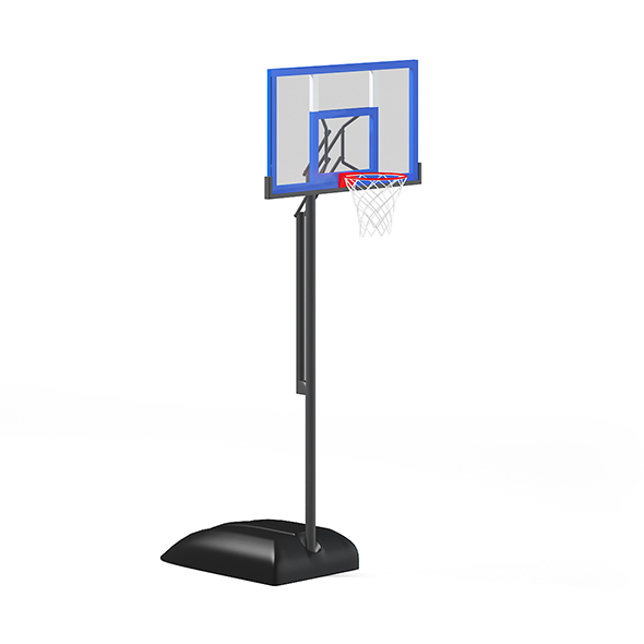 Basketball Backboard - 3DOcean Item for Sale