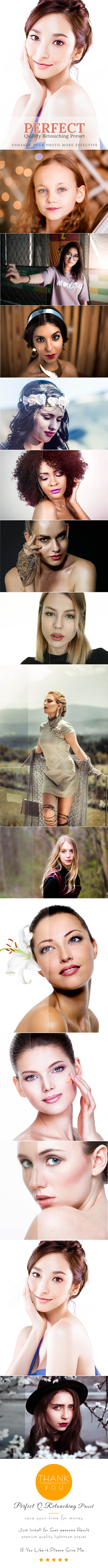 Professional 25 Quality Retouching Preset - Lightroom Presets Add-ons