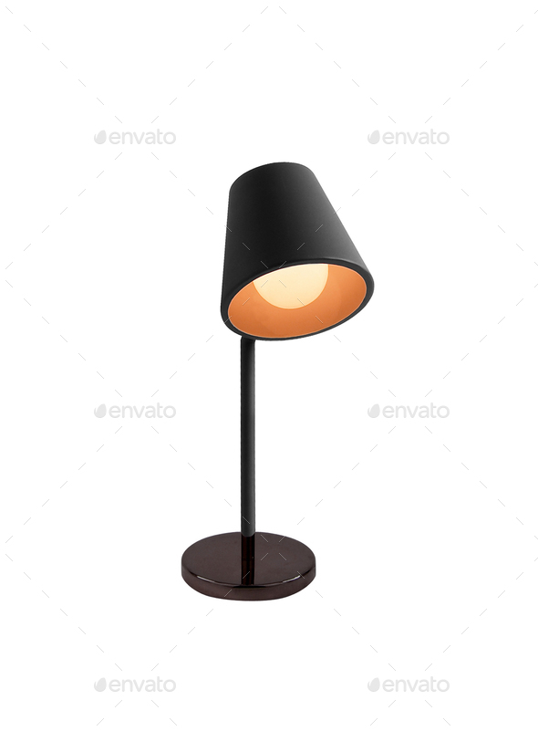 Lamp isolated - Stock Photo - Images