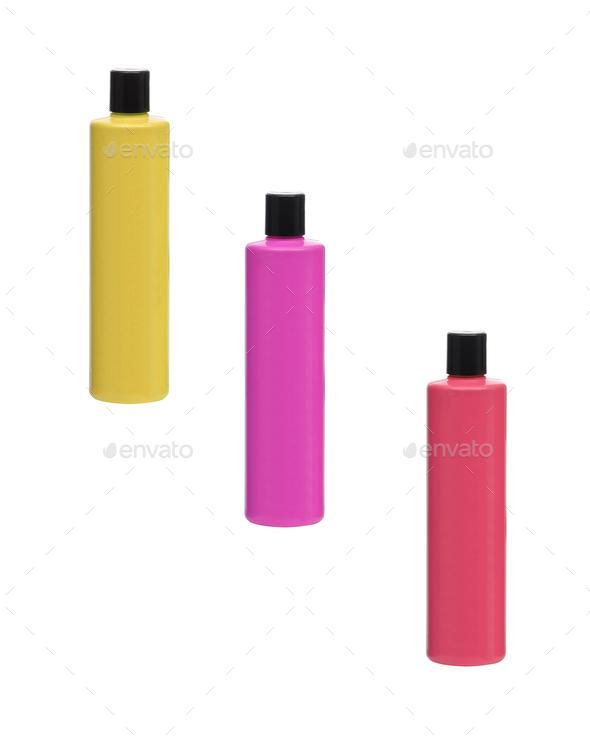 Bottles isolated - Stock Photo - Images