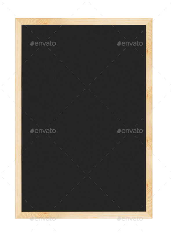 Blackboard isolated - Stock Photo - Images