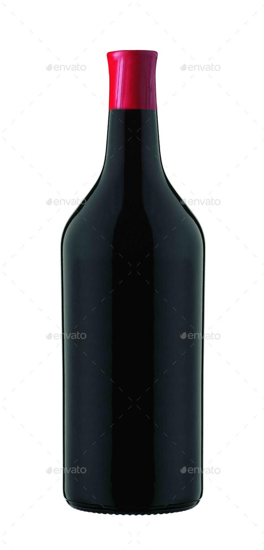 Wine isolated - Stock Photo - Images