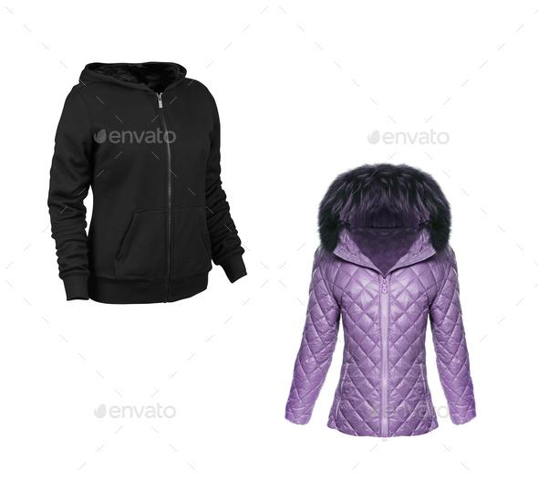 Jackets Female - Stock Photo - Images