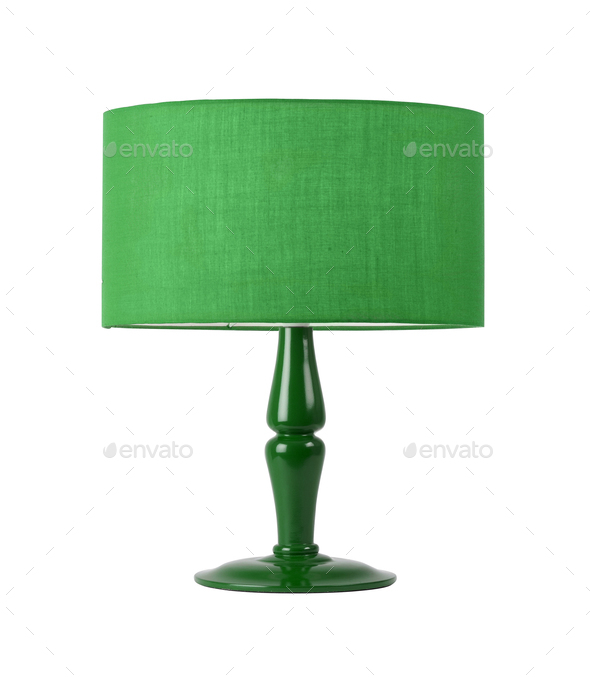 Table Lamp isolated - Stock Photo - Images